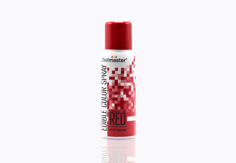 Red Edible Spray Paint 1.5oz