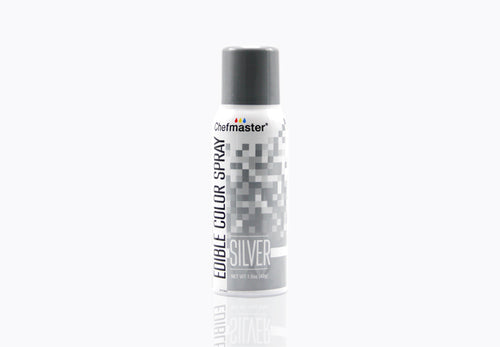 Edible Silver Spray Paint 1.5oz
