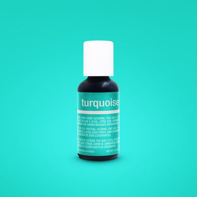 Turquoise Liqua-Gel Food Coloring 20ml