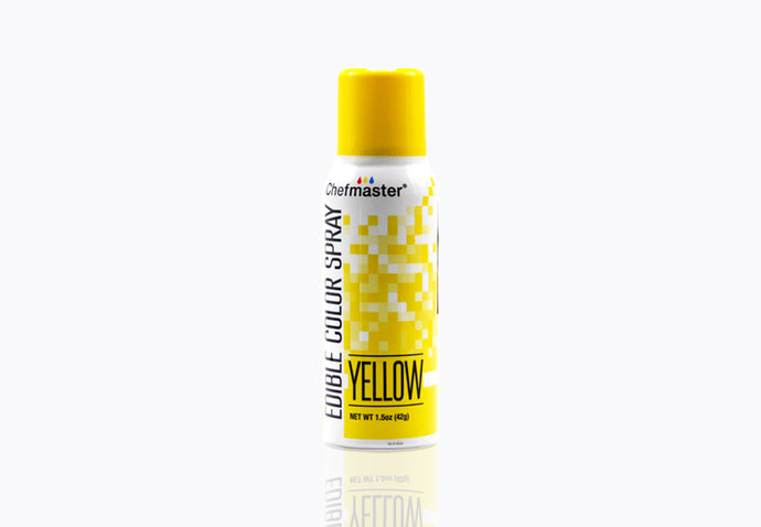 Yellow Edible Spray Paint 1.5oz
