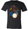 Cryptozoology Mothman Drummer Cryptid T-Shirt