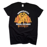 Mothman Social Distancing Champion Cryptid T-Shirt