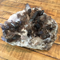 Large Smokey Quartz Cluster - 7.4lbs
