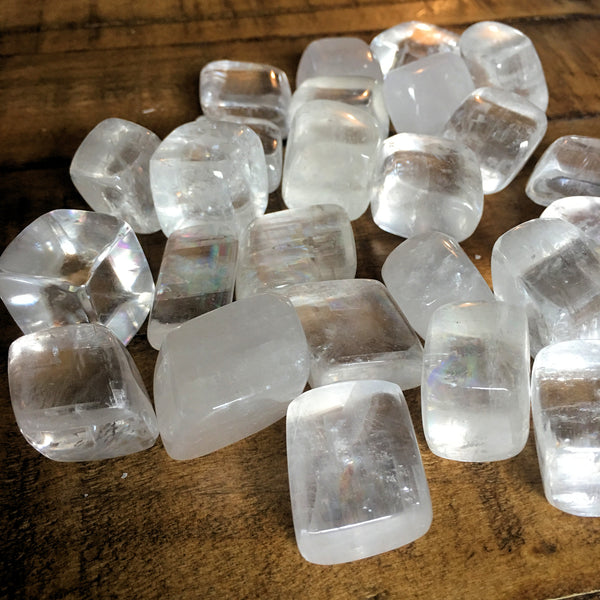 Clear Calcite Tumbled Stone
