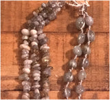 Labradorite Multi-Strand Necklace - 32""