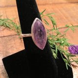 Amethyst Marquis Shaped Ring