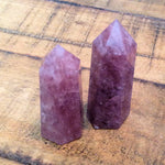 "Strawberry Quartz Obelisk Points (1 1/2"" - 2"")"
