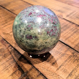 Ruby in Fuchsite Sphere (55mm - 60mm)