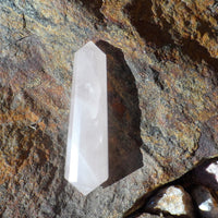 Rose Quartz 16 Sided Double Terminated 2""