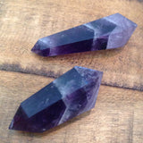 "Chevron Amethyst Double Terminated (2"" - 2 1/2"")"