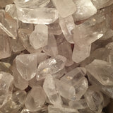 "Clear Quartz Points (1 1/2"" - 2"")"
