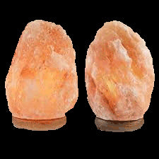 "Himalayan Salt Lamp (7 - 9"" tall and 6"" - 7"" wide)"