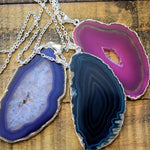 "Agate Slice Pendants (2"" - 3"")"
