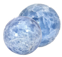 60mm - 70mm Blue Calcite Sphere