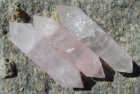 Rose Quartz Double Terminated Wand (100mm)