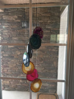 7 Pc Agate Wind Chime