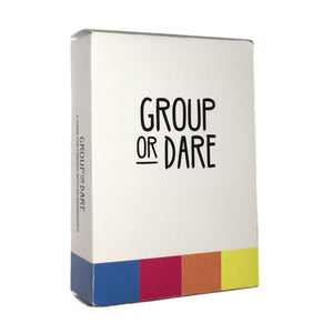 Group or Dare: A Game for Friends with No Boundaries