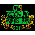 2011 World Series Champions Logo Neon Sign 2