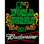 2011 World Series Champions With Budweiser Logo Neon Sign 3