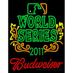 2011 World Series Champions With Budweiser Logo Neon Sign 4