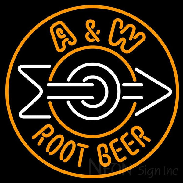 A W Root Beer Neon Sign