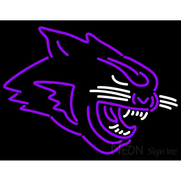 Abilene Christian Wildcats Partial 2013 Pres Logo NCAA Neon Sign