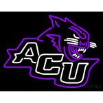 Abilene Christian Wildcats Primary 2013 Pres Logo NCAA Neon Sign