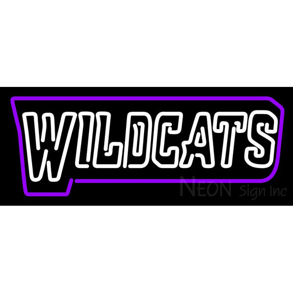 Abilene Christian Wildcats Wordmark 2013 Pres Logo NCAA Neon Sign