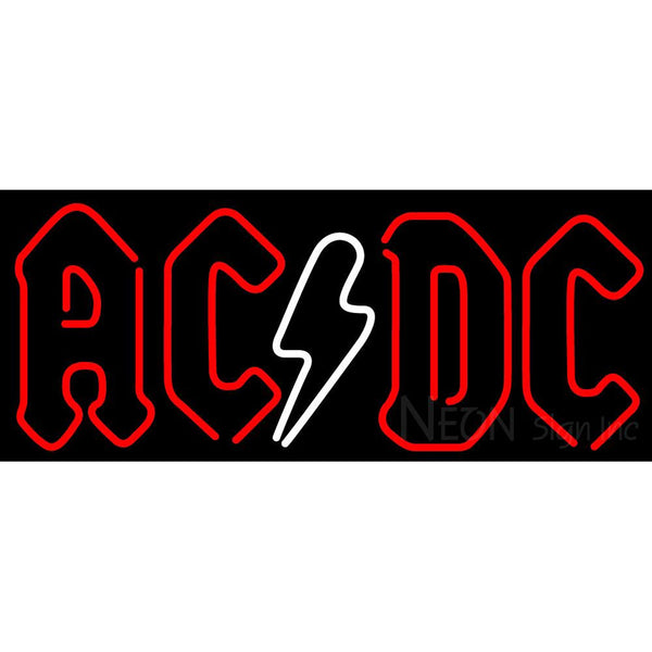 AC DC Band Music Neon Sign