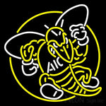 Aic Yellow Jackets Alternate 2009 Pres Logo NCAA Neon Sign