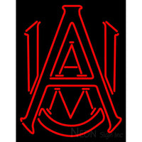 Alabama Agricultural And Mechanical University Team Neon Sign
