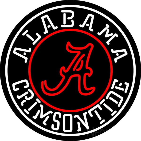 Alabama Crimson Tide Team Neon Sign