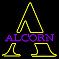 Alcorn State Brave Steam Neon Sign 24x24