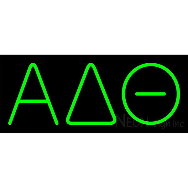 Alpha Delta Theta Neon Sign 1