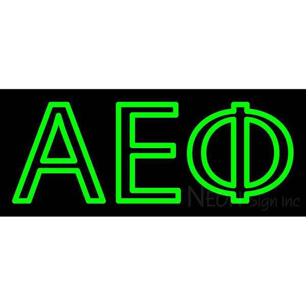 Alpha Epsilon Phi Neon Sign