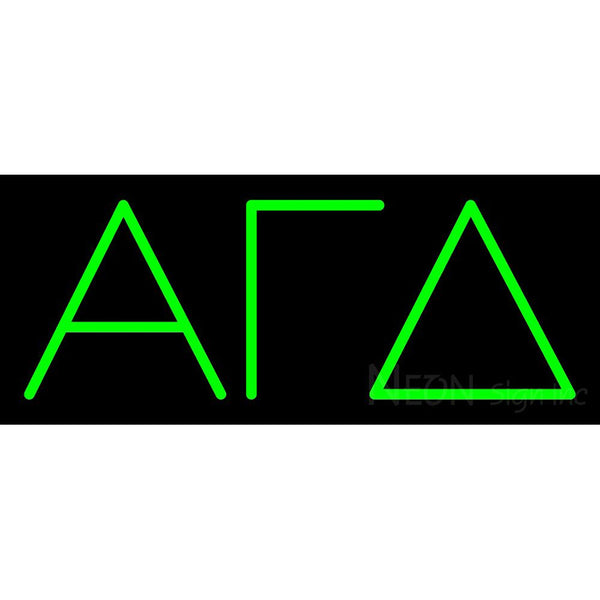 Alpha Gamma Delta Neon Sign 1