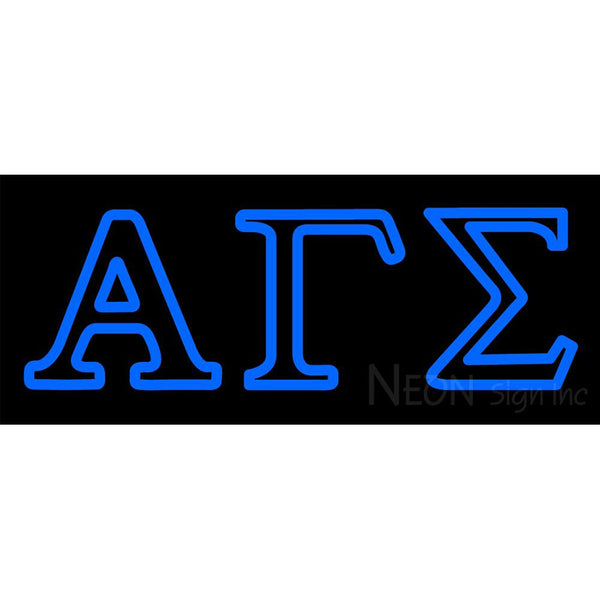 Alpha Gamma Sigma Neon Sign