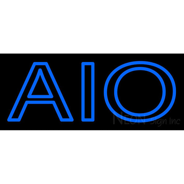 Alpha Iota Omicron Neon Sign