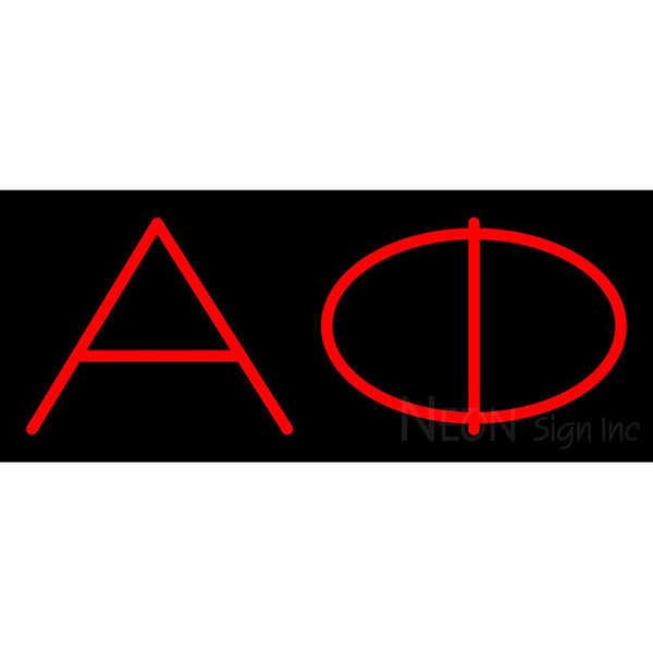 Alpha Phi Neon Sign 1