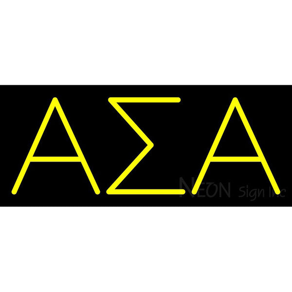 Alpha Sigma Alpha Neon Sign 1