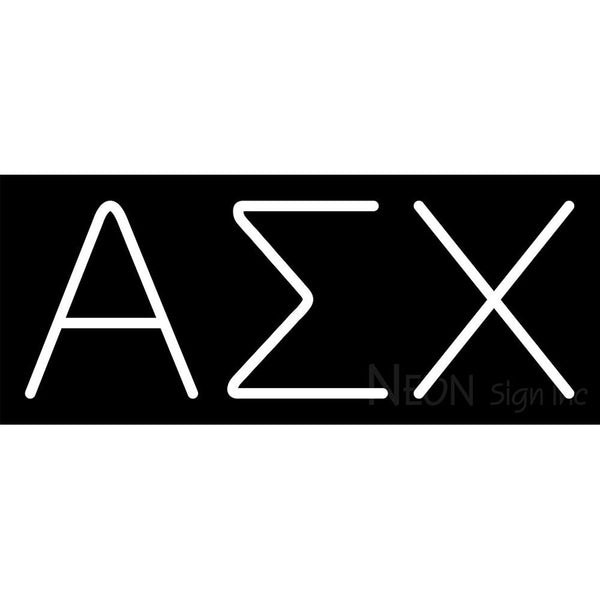 Alpha Sigma Chi Neon Sign 1