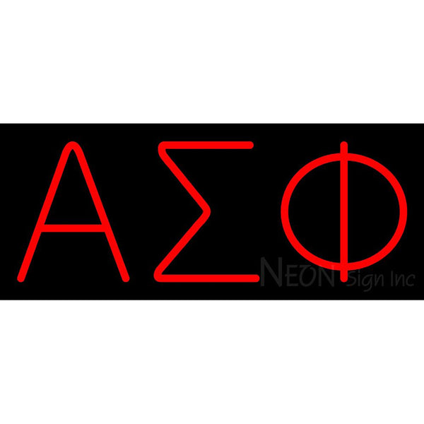Alpha Sigma Phi Neon Sign 1