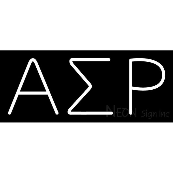 Alpha Sigma Rho Neon Sign 1