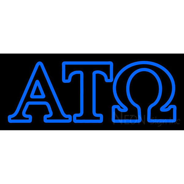Alpha Tau Omega Neon Sign