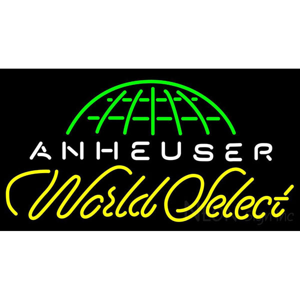 Anheuser World Select Neon Beer Sign