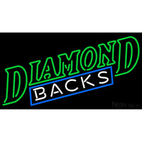 Arizona Diamondbacks Wordmark 1998 2000 Logo MLB Neon Sign 1