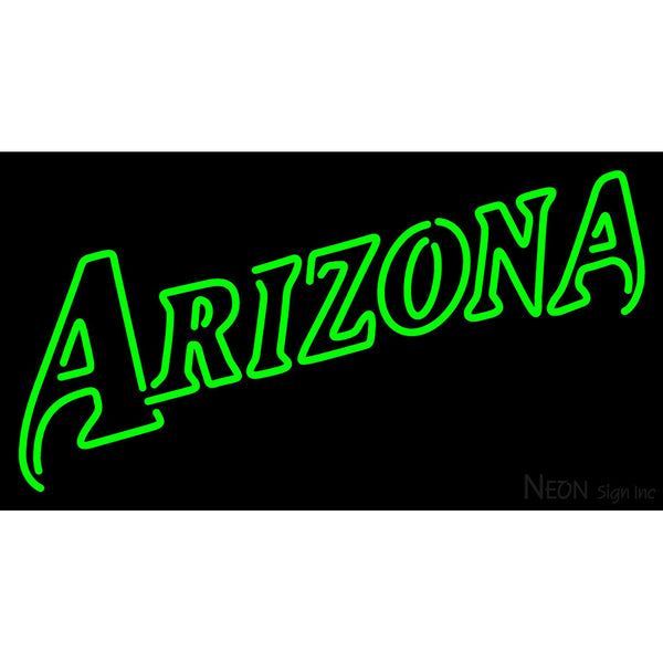 Arizona Diamondbacks Wordmark 1998 2002 Logo MLB Neon Sign