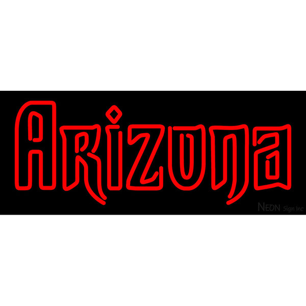 Arizona Diamondbacks Wordmark 2007 Pres Logo MLB Neon Sign