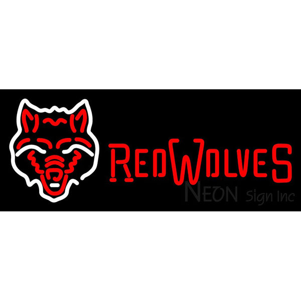 Arkansas State Red Wolves Team Neon Sign