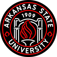 Arkansas State University Neon Sign